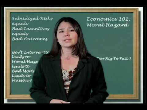 Economics 101: Moral Hazard