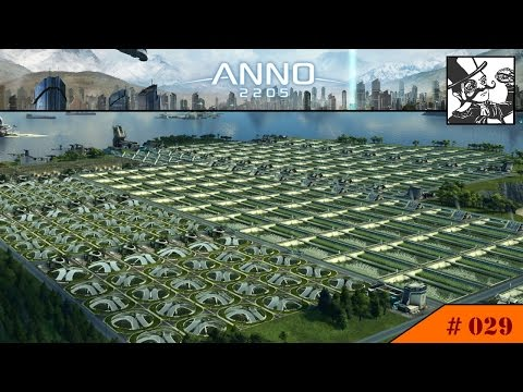 Anno 2205: #029 Sector projects, outsourcing, building a worker city - Much to do!