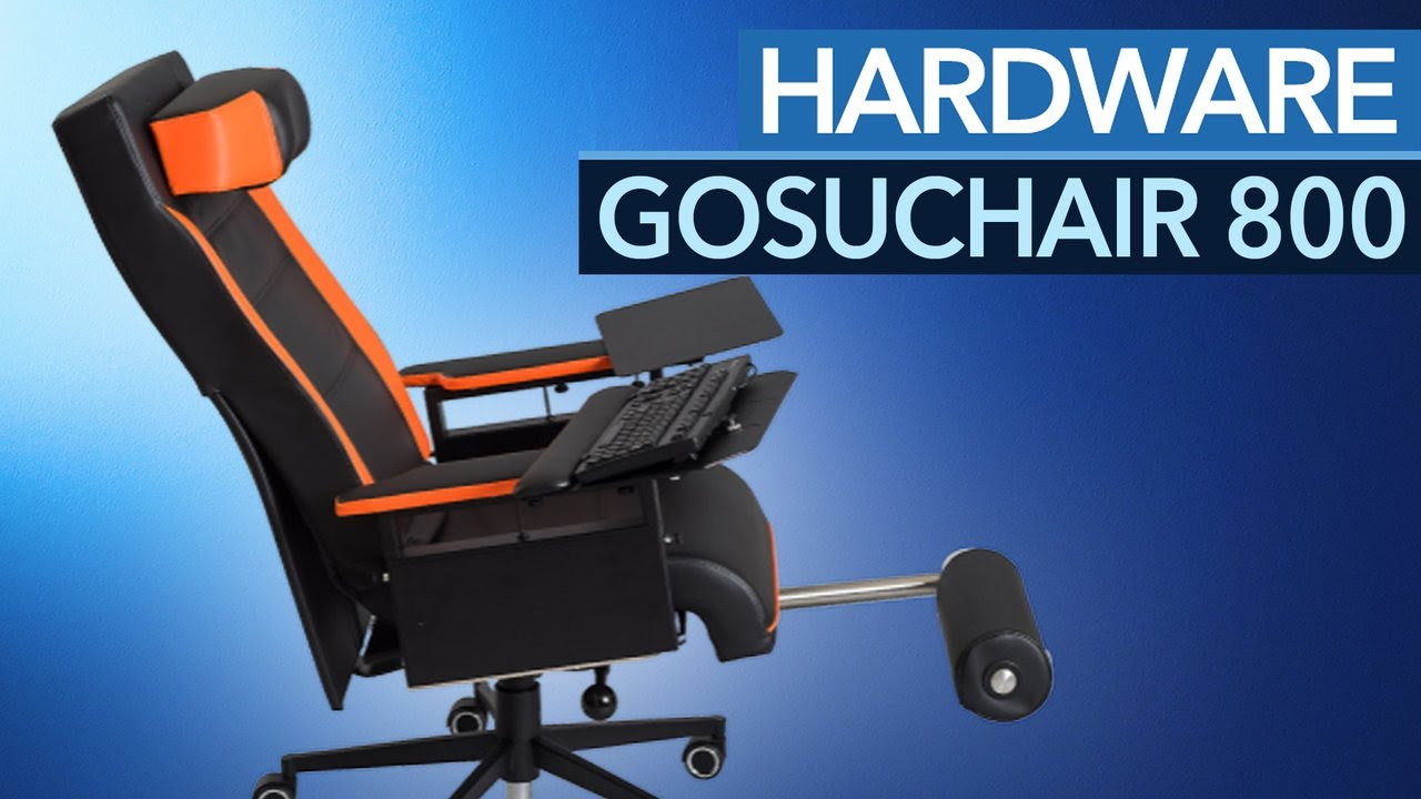 GosuChair 800 Der Ultimative Gaming Stuhl Made In