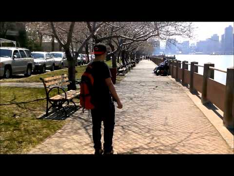 Vacation in Roosevelt island-NY on April 10,2013
