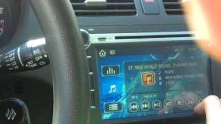 SUZUKI SWIFT CAR VIDEO & SOUND SYSTEM