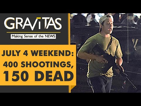Gravitas: U.S: 400 Shootings over Independence day weekend