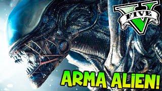 ARMA ALIEN !!! GTA V MODS ROCKSTAR EDITOR !! SUPER EXPLOSIONES Y MAS! GTA 5 PC MODS Makiman