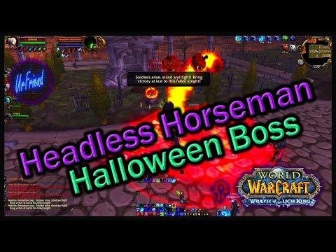 WoW Headless Horseman - Halloween Boss [HD]