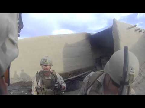Marine Gets Shot In The Head By Taliban Sniper