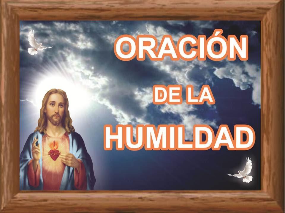 Resultado de imagen para La oración de la humildad