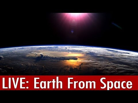 EARTH FROM SPACE:Feed from ISS(LIVE)+Live Chat