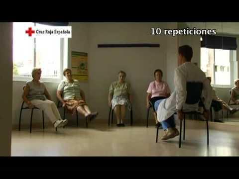 Gimnasia para personas mayores ejercicio 6 ejercicios for Sillon alto para personas mayores