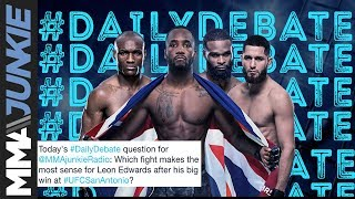 Daily Debate: Who should be next for Leon Edwards?