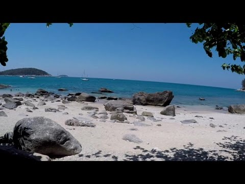 Four beaches and a stranger in Thailand
