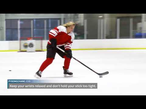 Canadian hockey star Marie-Philip Poulin offers shooting tips
