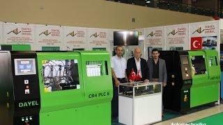 CR4 PLC EG -Стенд для тестирования форсунок Common Rail и ТНВД  -  DAYEL-DIESEL(Турецкая компания DAYEL MAKINA A.Ş. под торговой маркой