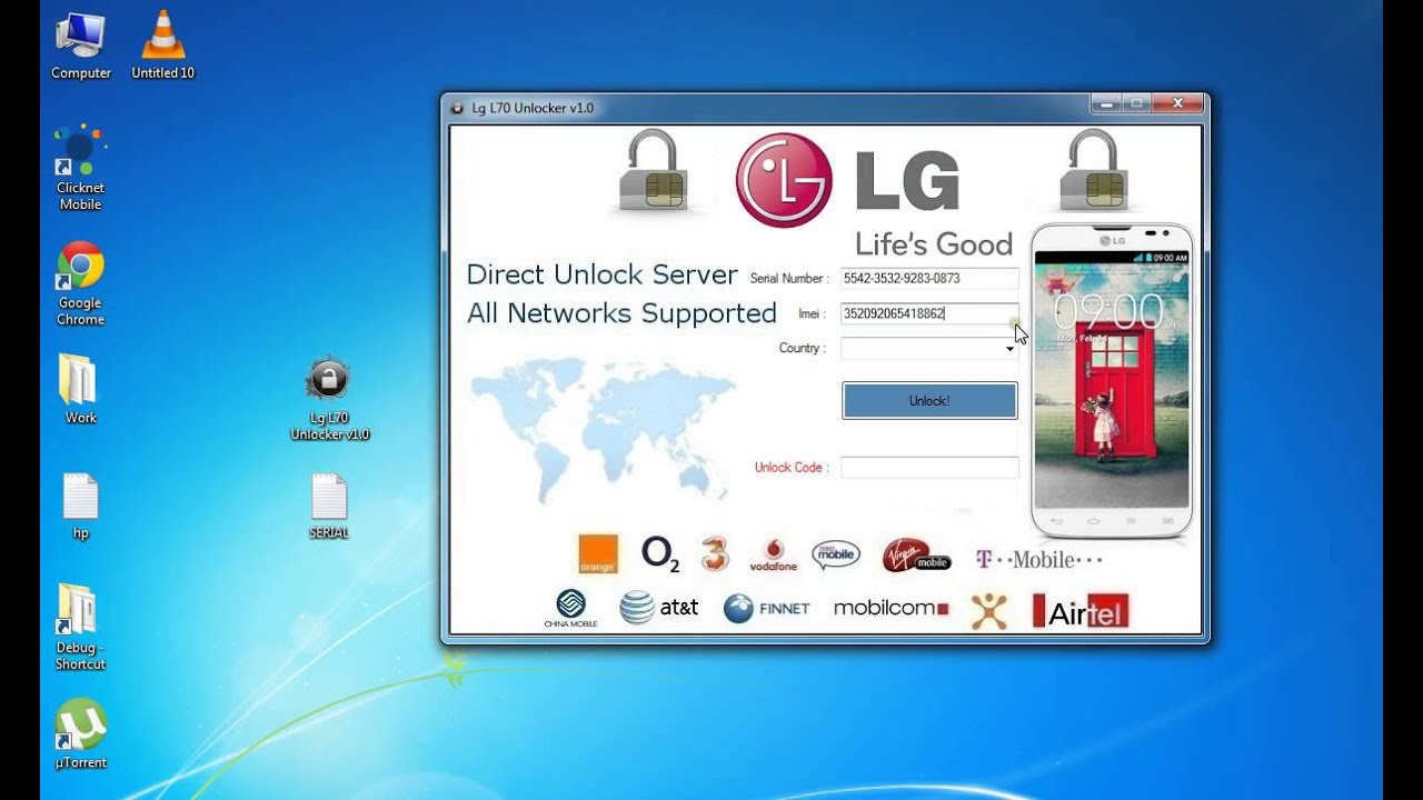 Ho how to hard reboot an lg d321 cricket cell phone - How To Unlock Lg Optimus L70 Free