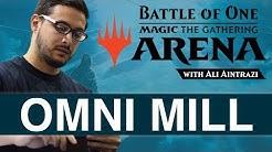 MTG Arena: Omni Mill with Ali Aintrazi [Bo1 Format]