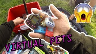 Car Boot Live Game Hunting Ep59 - 90s Virtual Pets 👍😀
