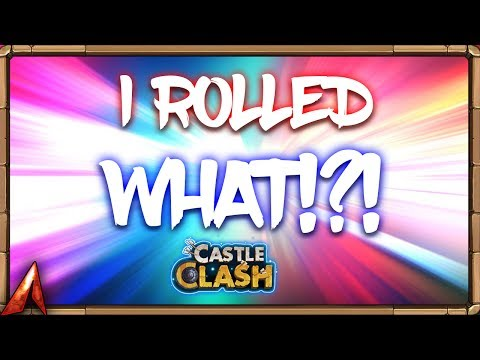 Crazy F2P Daily Hero Roll! 5th Builder! Castle Clash