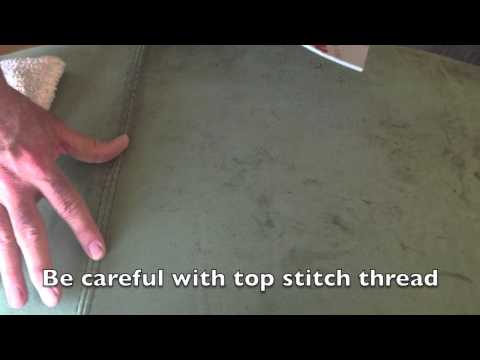 How to Clean Nubuck or Suede Leather Furniture