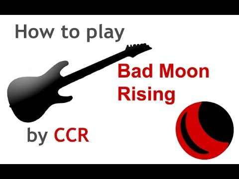 Bad Moon Rising beginner guitar lesson with chords - guitarguitar ...