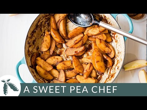 How To Make Cinnamon Apples   A Sweet Pea Chef
