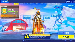 FORTNITE LAST DAY OF SEASON 7! FORTNITE LAST SEASON 7 ITEM SHOP! FORTNITE NEW PATCH V8.00 UPDATE