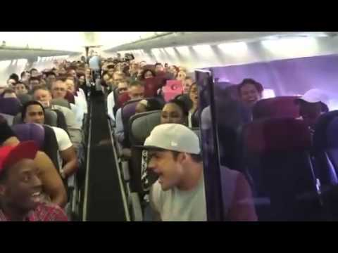 In-Flight Entertainment!!!  Look What These Passengers Did!!!