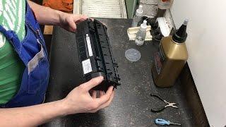 Заправка картриджа HP Q7553A без халтуры(http://www.colourit.ru/refill-cartridges/hp/2423 Данный материал не является инструкцией по заправке картриджей. Ролик носит..., 2016-02-23T19:36:33.000Z)