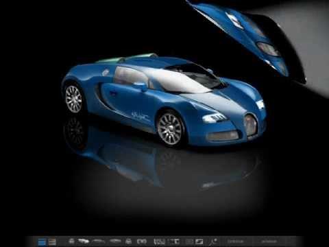 "my bugatti veyron 16.4 ""aqua"" water blue design -bugatti"