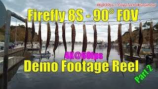 hawkEYE Firefly 8S Demo Footage Reel - Review Part 2