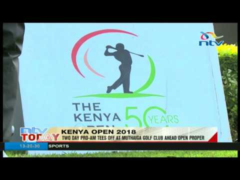 Two day Pro-Am tees off at Muthaiga Golf Club ahead open proper