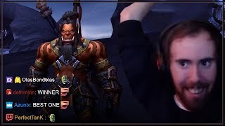 Asmongold's First Horde Transmog Competition of BFA
