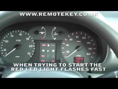 Renault clio immobiliser light flashing | Car info