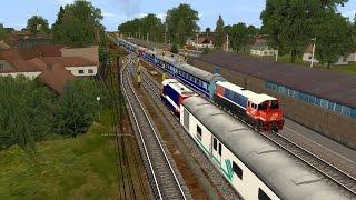 Simulasi Persilangan Kereta Api Jaman Perumka [Trainz Simulator 2009]