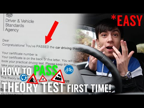 HOW TO PASS THEORY TEST FIRST TIME! 😱