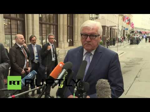 Austria: Lavrov and Kerry arrive at the Palais Niederoesterreich to discuss Syria ceasefire