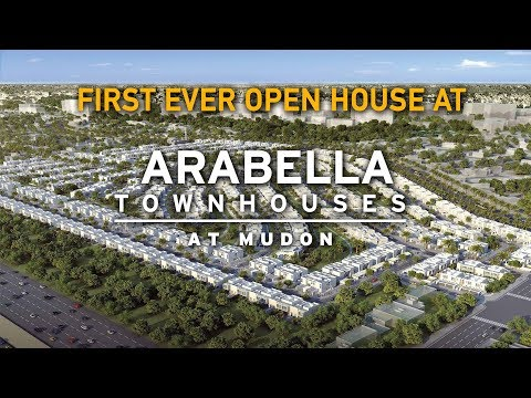 First Ever Open House at Arabella Mudon Dubailand  - Presenting Show Townhouse