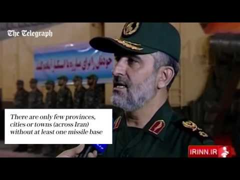 Inside Iran's secret missile tunnels