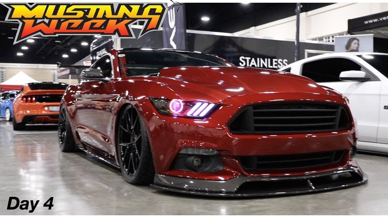 Mustang Week Car Show Mustangs Everywhere YouTube - Mustang car shows