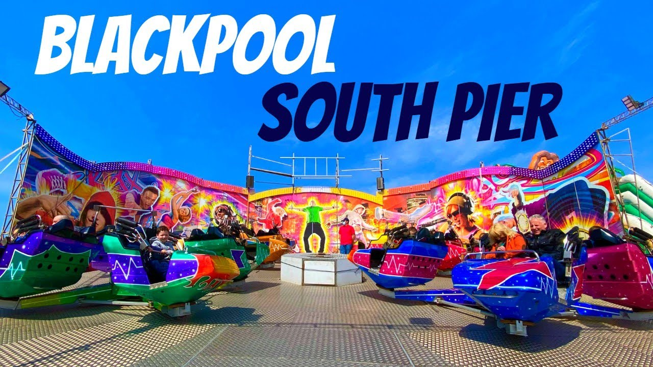 Blackpool South Pier Vlog May 2021
