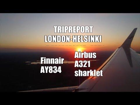 TRIPREPORT / FINNAIR ECONOMY / AIRBUS A321 TO HELSINKI