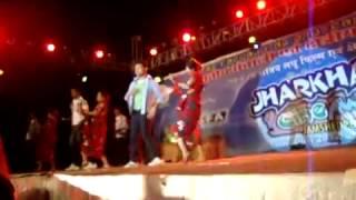 SANTALI DANCE BY KOLKTA BALLY BELUR DANCE GROUP AT JHARKHAND CINE AWARDS 2012 MPG   YouTube