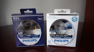 Philips RacingVision vs WhiteVision
