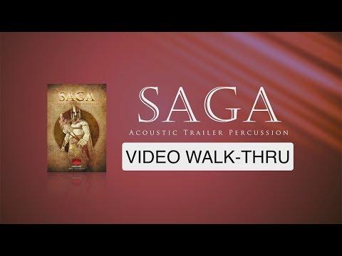 "WALK-THRU for ""Saga - Acoustic Trailer Percussion"" (Red Room Audio)"