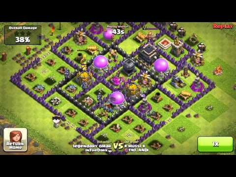 Clash of Clans - BAM Rules !!