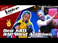TOP 10 | DOPE YOUNG Rappers in The Voice Kids