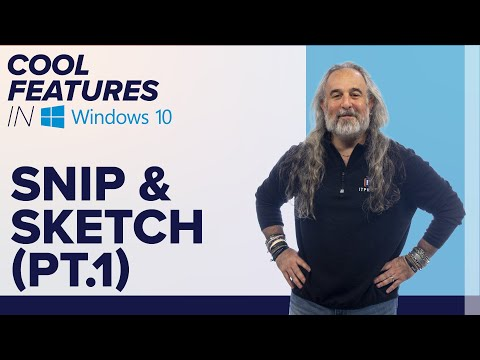 Snip & Sketch | How to Snip & Annotate What's on Your PC Screen | Cool Features in Windows 10