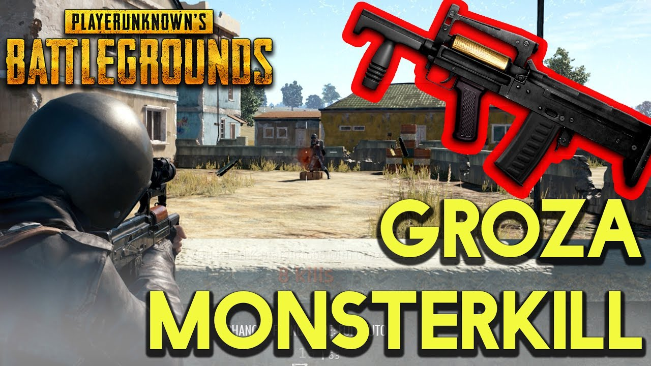 Groza Monsterkill Pubg Solo Carnage Playerunknown S