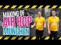 Trampolinhalle AirHop München - Making Of