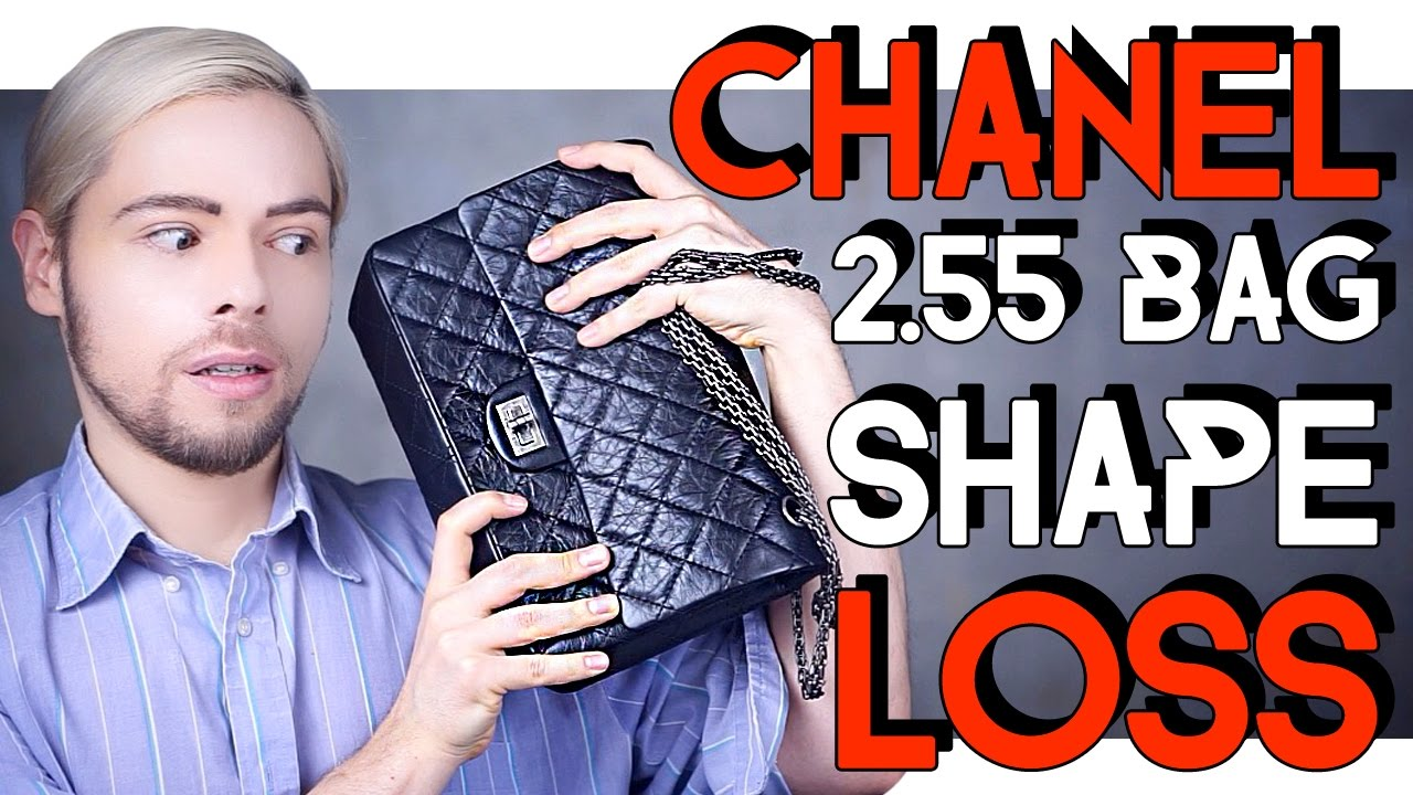 609cbc26dfcedb CHANEL 2.55 REISSUE BAG - SHAPE LOSS ISSUE - YouTube