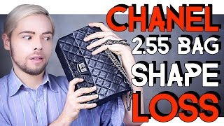 CHANEL 2.55 REISSUE BAG - SHAPE LOSS ISSUE
