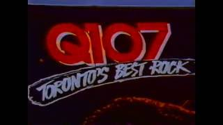 Q107 1980s TV Commercial - Wall Mural Springsteen - 1989